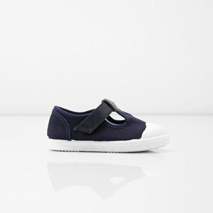 Sandalettes bébé garçon en toile