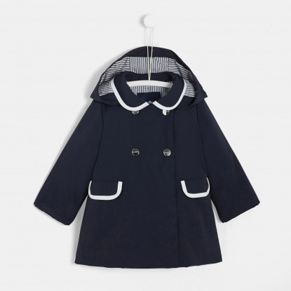 Manteau d'intersaison bébé fille