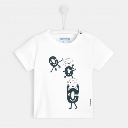 T-shirt bébé garçon Hello demain