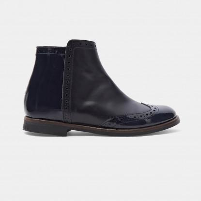 Boots enfant fille en cuir