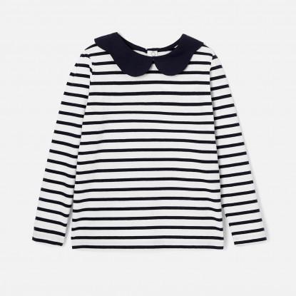 T-shirt rayé enfant fille