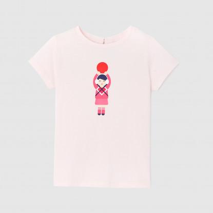 T-shirt manches courtes enfant fille