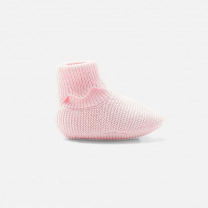 Bottons bébé fille en tricot