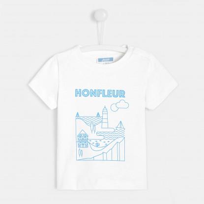 T-shirt bébé garçon Honfleur