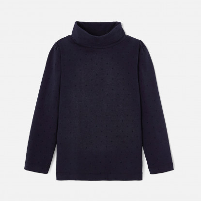 Sous-pull enfant fille en jersey