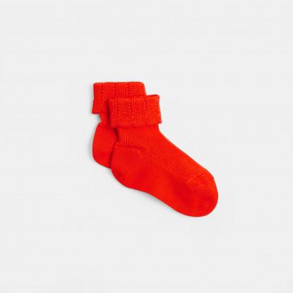 Chaussettes bébé fille à festons