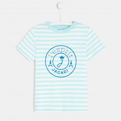 T-shirt enfant garçon à rayures