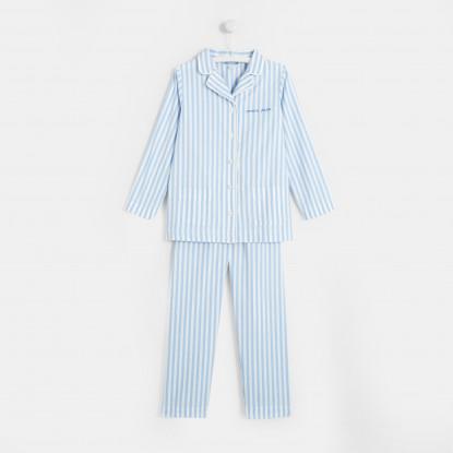 Pyjama à rayures enfant garçon