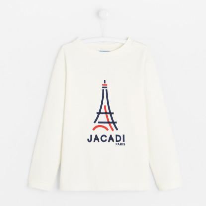 T-shirt enfant garçon motif Tour Eiffel