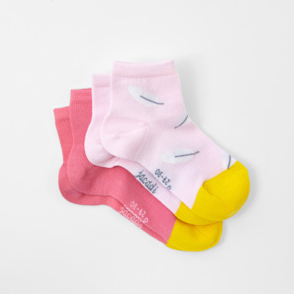 Duo de chaussettes enfant fille
