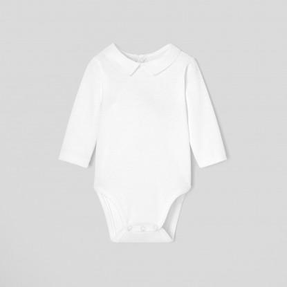 Body bébé garçon à col chemise