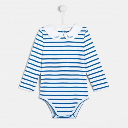 Body marinière bébé fille