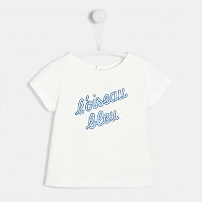 T-shirt bébé fille à message