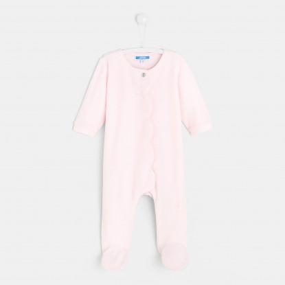Surpyjama bébé fille en polaire