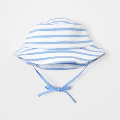 Chapeau bébé garçon à rayures