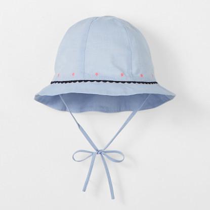 Chapeau bébé fille en fil à fil