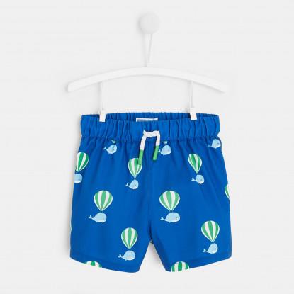 Short de bain montgolfière