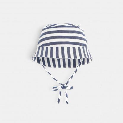 Chapeau bébé garçon rayé