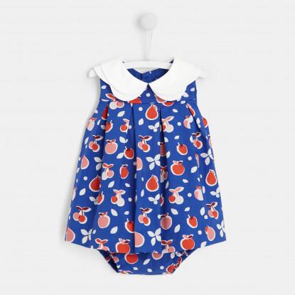 Robe bébé fille motifs fruits