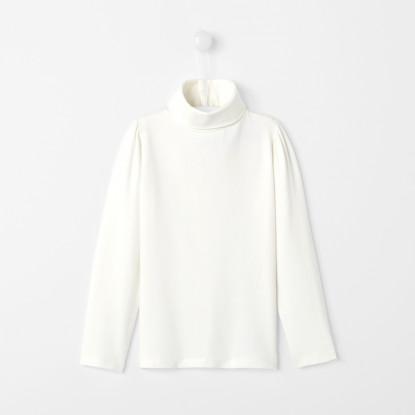 Sous-pull enfant fille en jersey de coton