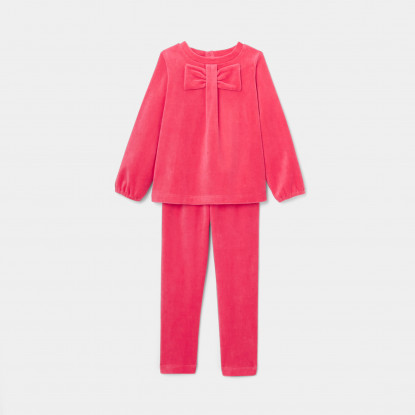 Pyjama enfant fille en velours