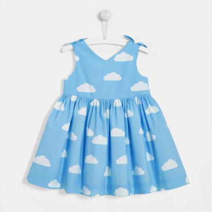Robe bébé fille motif nuage
