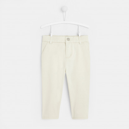 Pantalon bébé garçon coupe slack