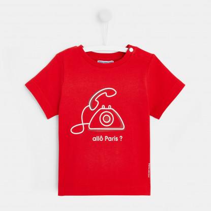 T-shirt bébé garçon téléphone
