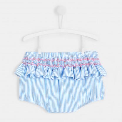 Culotte bébé fille à rayures