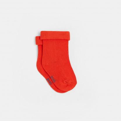 Chaussettes bébé garçon maille bouclette