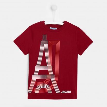 T-shirt enfant garçon Tour Eiffel