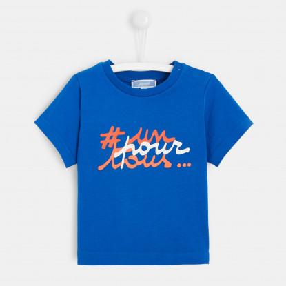 T-shirt à message bébé garçon