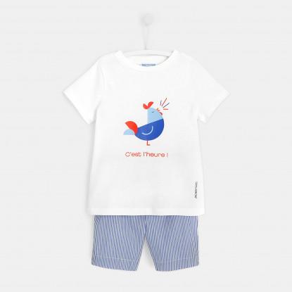 Pyjama short enfant garçon