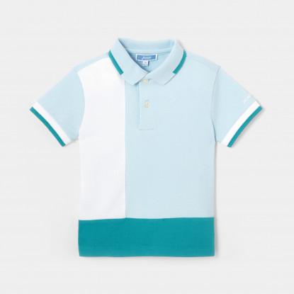 Polo color block enfant garçon