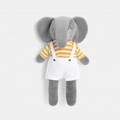 Peluche éléphant en velours