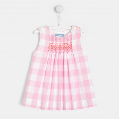 Robe bébé fille en Vichy