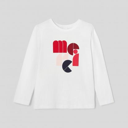 T-shirt à message enfant fille