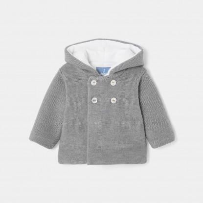 Veste en tricot bébé garçon
