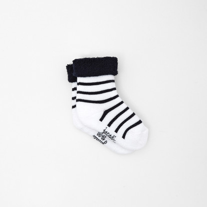 Chaussettes bébé garçon à rayures