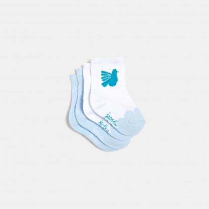 Duo de chaussettes bébé fille