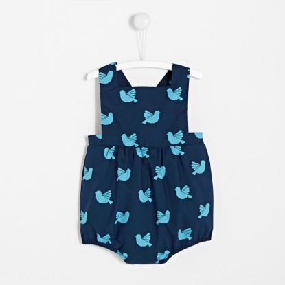 Bloomer bébé fille motif oiseau