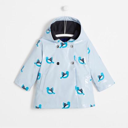 Ciré bébé fille motif oiseau