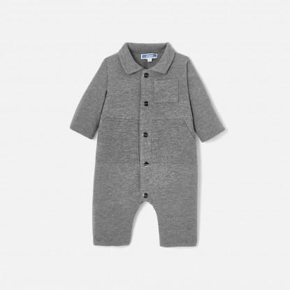 Combinaison bébé garçon en jersey