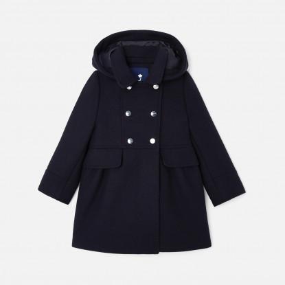 Manteau enfant fille en laine